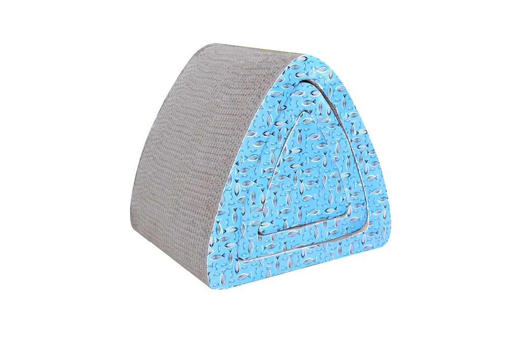 Popular Good Quality Cardboard Corrugated Cat Scratcher,Pet Product,Pet Toy