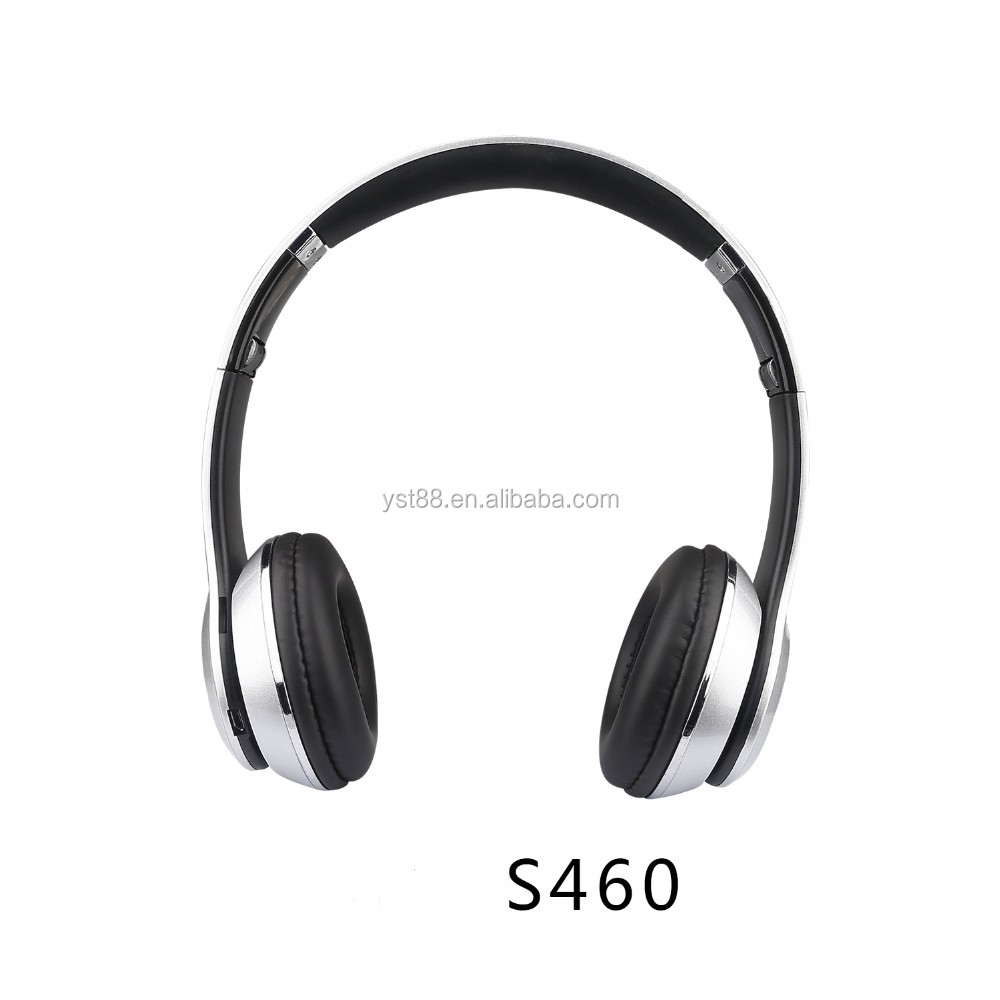Bluetooth Headset Wireless headphone Bluetooth Sport Headset In-Ear Music Headset with Mic S460 English Voice Noise Cancelling