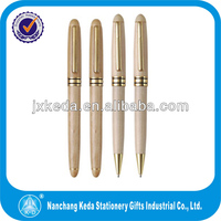 white wooden ball pens for promotional