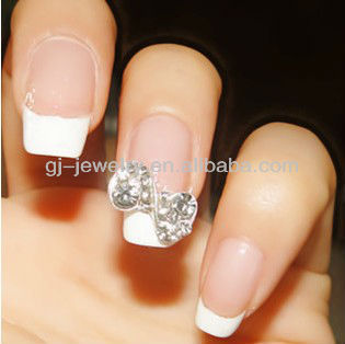 3D Alloy Nail Art Decoration Glitters Rhinestones