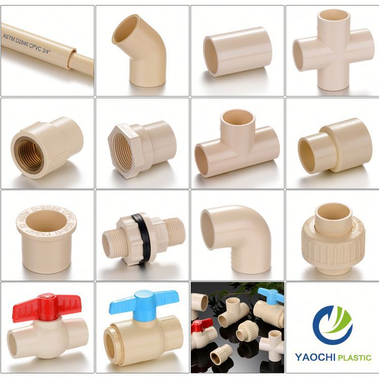 All size available pipe and fittings top supplier plastic quick connect fittings