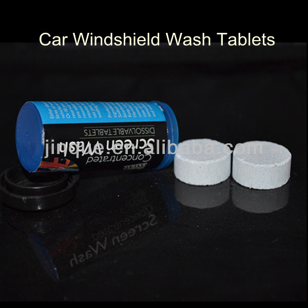 solid car windshield wash products