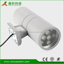 Up down aluminum 2x6w 2x9w 2x18w outdoor led wall light mounted