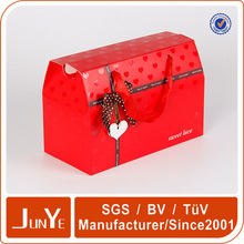 luxury valentine day paper gift paper bag for small gifts