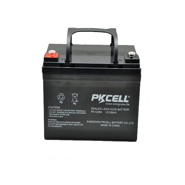 PKCELL 12V 12Ah Rechargeable Supply assembly line lead acid battery