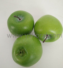 2017 New High Quality Artificial Fruits Apple Imitation foam artificial Green Apple