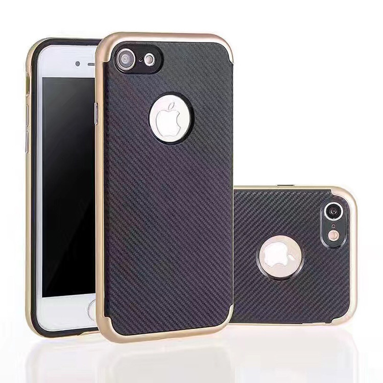 Newest Arrival carbon fiber phone cover for iphone 7