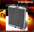 Best quality racing radiator for H ONDA CIVIC DEL/SOL 1.6L4 92-00 AT