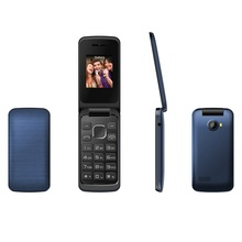 Alibaba October newly launch product flip phone from China factory 1.8inch mini size flip telefono W200