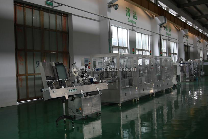Poyton manufacture vacuum blood tube assembly production line