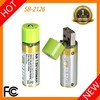 2016 New Arrival Portable 1.5 V USB Directly Rechargeable Super Power 1.5V Dry Battery For Emergency