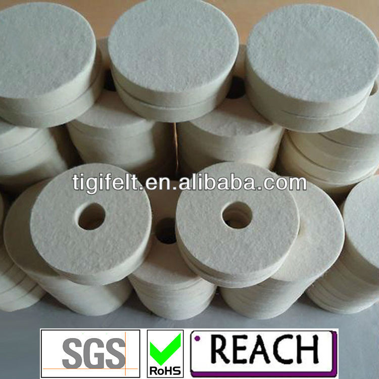 manufacture felt polishing wheels,felt discs,wool wheels and felt pads