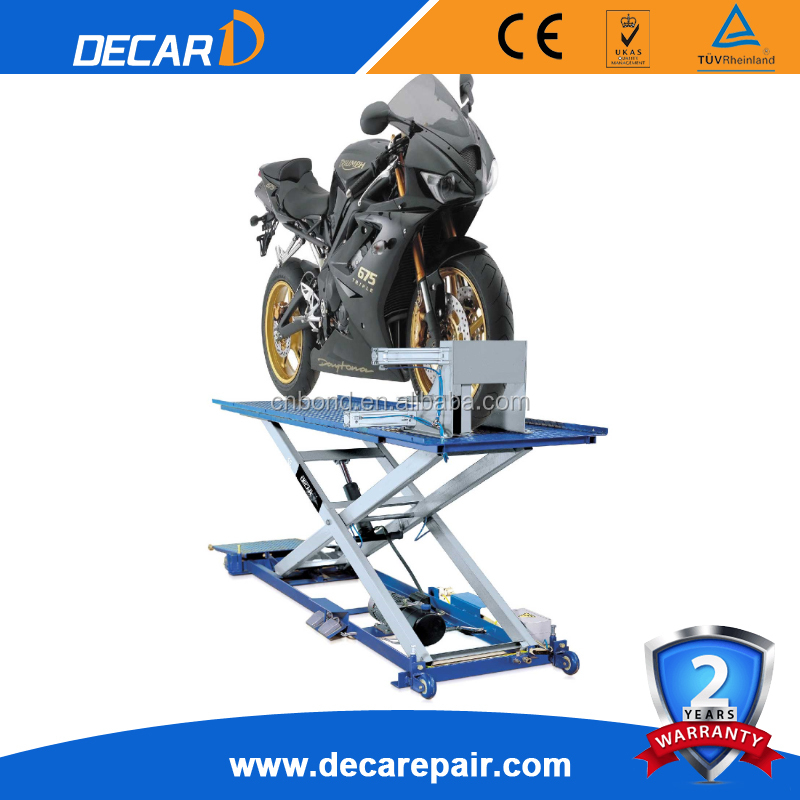 used mini tilting motorcycle lift/car scissor hosit for sale