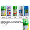 Air Freshener Aerosol Can Metered Valve and Plastic Cap