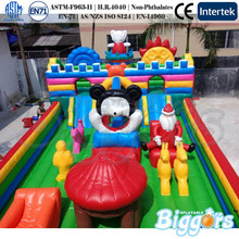 Giant Playgrounds Inflatable Bouncer Cartoon for Party