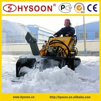 China Mini Skid Steer loader with Snow Thrower