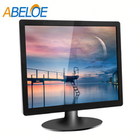 17.3 inch led screen monitor pc / plastic cover of led tv monitor