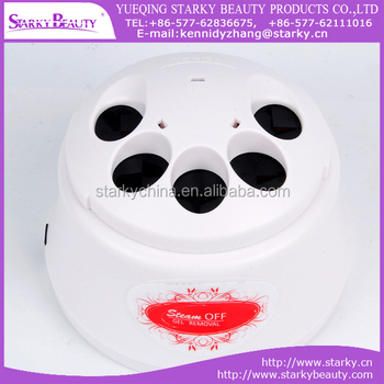 2016 Exclusive steam off gel removal nail steamer machine