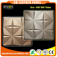 Best choice for Hotel decor 3d wall panel 3d board interior decoration padding