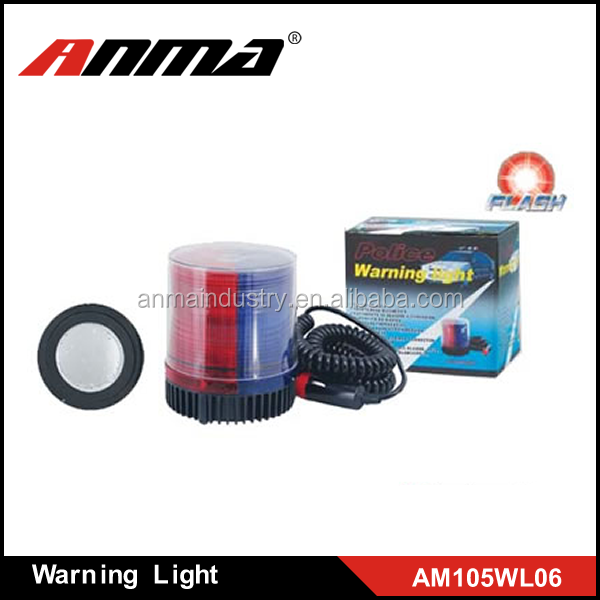 Magnetic truck Roof Top Flash Strobe Emergency Warning Light