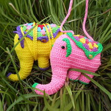 Supper cute elephant knitting stuffed toy can be customized