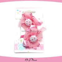 Flowers Girl hair accessory elastic ponytail holders