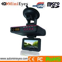 Anti police radar detector gun function Car 1080P Full hd Chelong GPS DVR and early warning radar detector