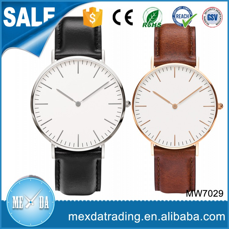 New arrival 5atm water resistant japan movt quartz stainless steel back watch