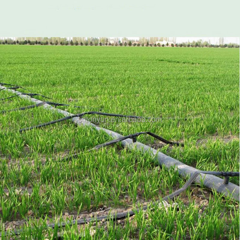 PE plastic drip irrigation pipe price for plant irrigation