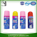 Facotory price Festival supplier custom mulit color party crazy string spray