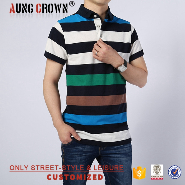 Multi-Color Custom Men's Blank High Quality Polo T-Shirt For Youth