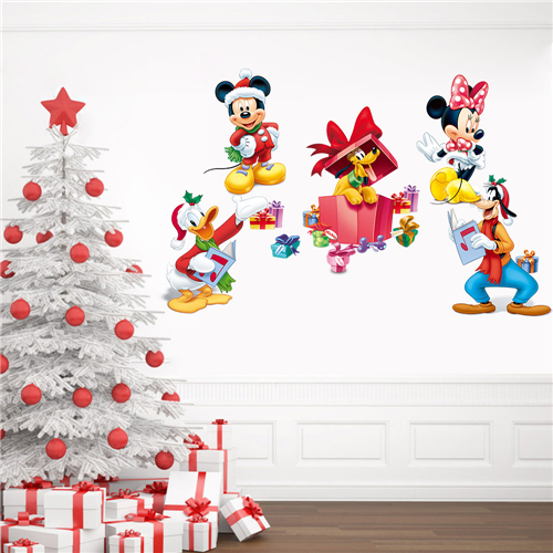 Disney authorized wall sticker manufacturer PVC wall sticker for gift custmoize gift for Disney authorized resellers(MQ014)