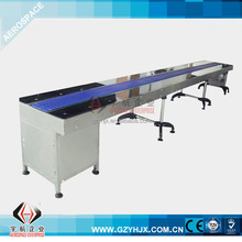 ISO9001:2000 stainless stee stepless electric drive flat conveyor belt