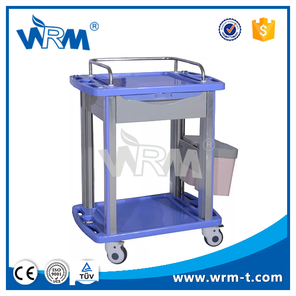 Medical Appliances Detachable Mobile Treatment Trolley With Casters
