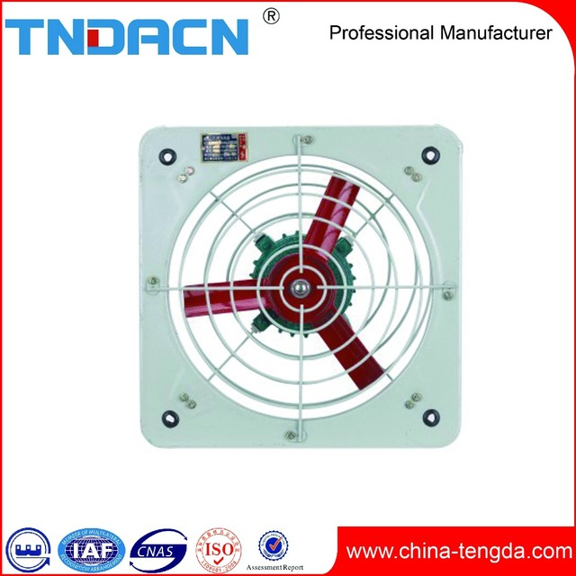 high quality wall mounted explosion proof exhaust fan