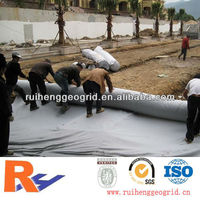 1.5mm smooth and black hdpe geomembrane liner for pond