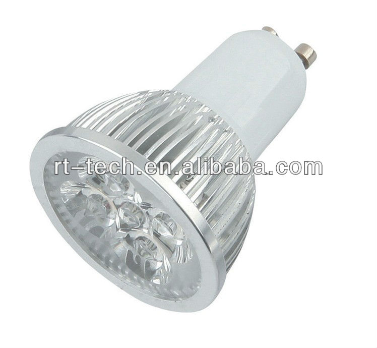 3W Spotlight ceramic chip gu10 led dimmable gz