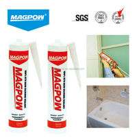 300ml brown glass glue glass silicone sealant