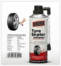 Aeropak Aerosol tire sealant and inflator foam
