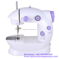 Low price lovely portable mini electric sewing machine