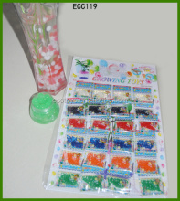 Crystal Soil In Sheet Packaging Green Color Jelly Beads