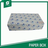 FOLDABLE PRINTED PAPER DRAWING BOX