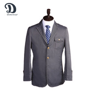 Reliable Reputation Grey Blazers Suits Men