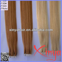 High Quality 100% human tape hair peruvian hair extentions