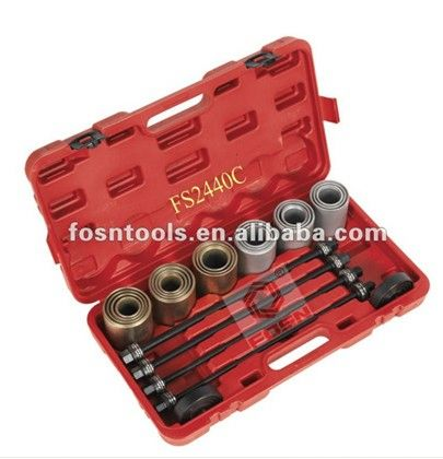 2016 Bearing Tools& Bush Removal/Installation Kit 26pc auto tools Vehicle Tools plastic oil drain pan for repair cars