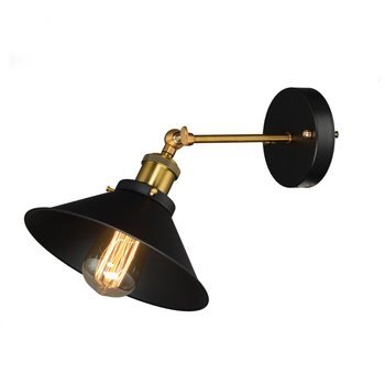 High Quality Industrial Vintage Wall Lamp Classic Iron Shade Home Decorative Wall Lamp