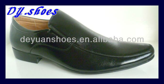 Breathable formal dress shoes brand name men shoes
