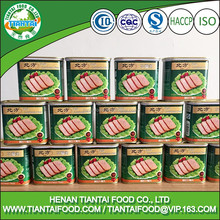 HACCP canned pork luncheon meat