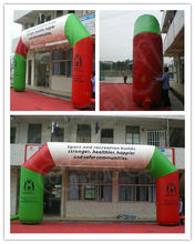 Cheap Colourful advertising Inflatable Arch