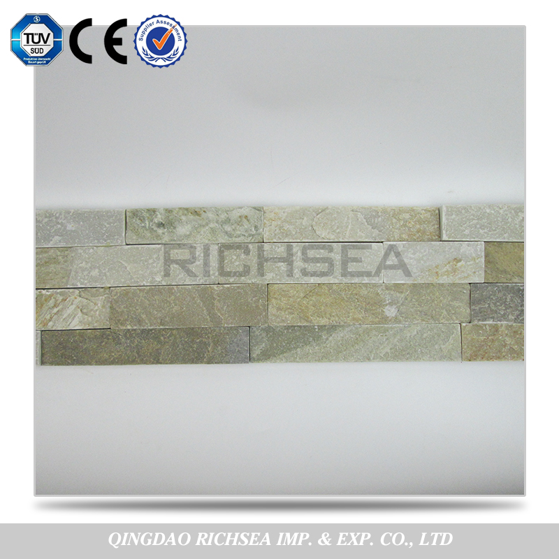 Competitive Products Cut to Size Slate Wall Stacked Culture Stone Tiles